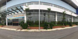 Thi công Phim cách nhiệt cho Nhà máy điện tử số 2 VNPT Technology